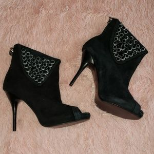 TWO Lips - Ankle boots- black w/embellishments